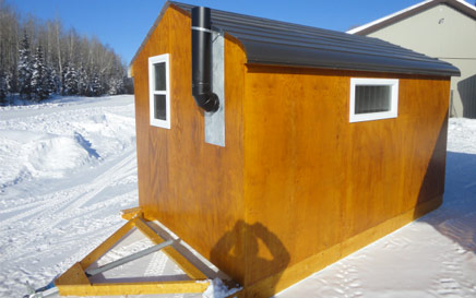 The Deluxe Ice Hut Back