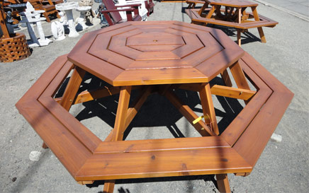 The Octagon Picnic Table